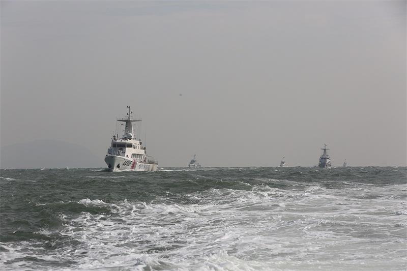 海警实战化大比武(摄影:姜宗平)